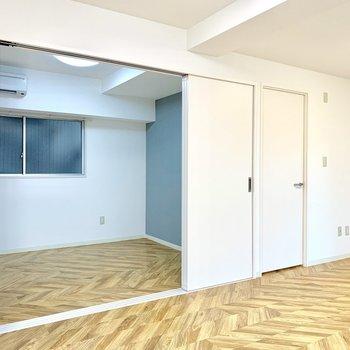 【LDK】エアコンは隣の洋室にのみ