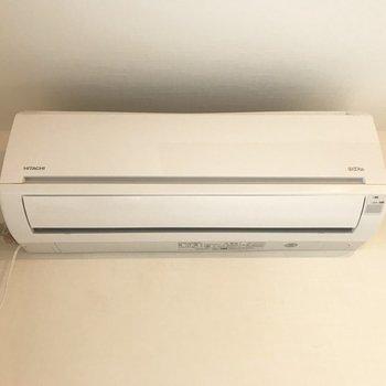 エアコンも完備◎冷房のみ(残置物になります)※写真は前回募集時のもの