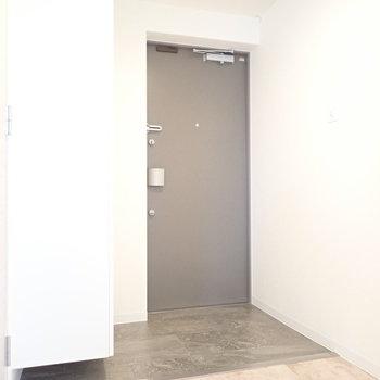 玄関まわりはゆったりめ!