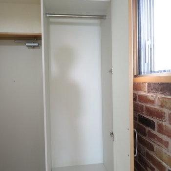 その横にも収納が※写真は9階類似間取り・別部屋のものです