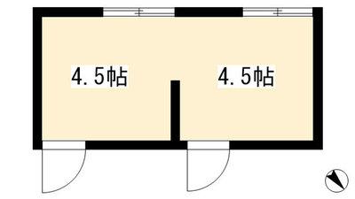 京都下鴨修学館 の間取り