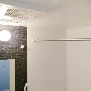 新しい浴室乾燥機は、暖房や冷房も可能なんです。