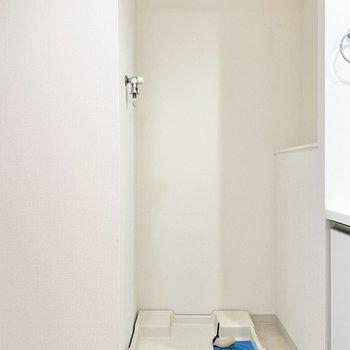 横には洗濯機が置けます。※写真は前回募集時のものです