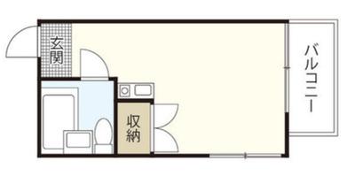 きこりの住み家の間取り図