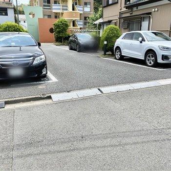 駐車場(空きなし)