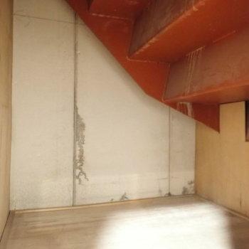 洋室9帖】小さな倉庫もございます。