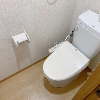 トイレはリビングからご利用ください。