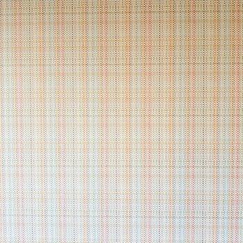 オレンジ基調のツイード柄が明るくてかわいい。