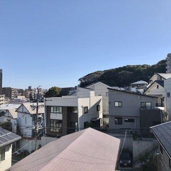 1階ですがこの眺望!