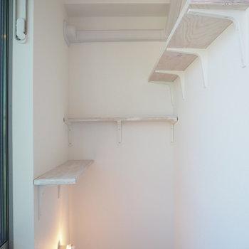 【3階】階段上にはキャットウォークがあります。※写真は同間取り別部屋のものです