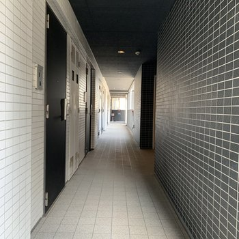 共有の廊下です。