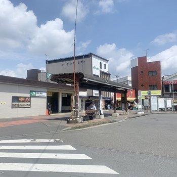 最寄りの<新秋津駅>です。