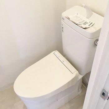 トイレはリビング部分にあり!