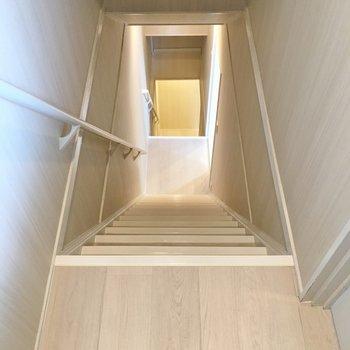 階段は少し急かな?
