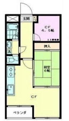 迦葉武蔵野第3マンション の間取り