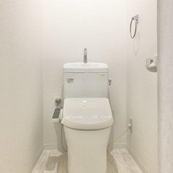 トイレはウォシュレット付きがありがたいなあって。