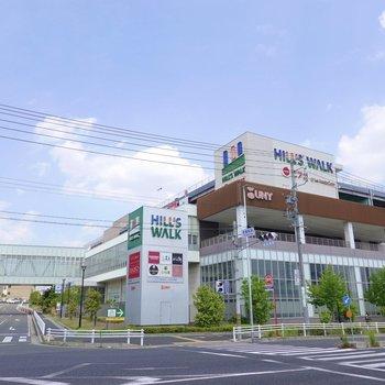 最寄り駅は徳重駅。駅直結のショッピングセンターには便利なお店が勢揃い◎