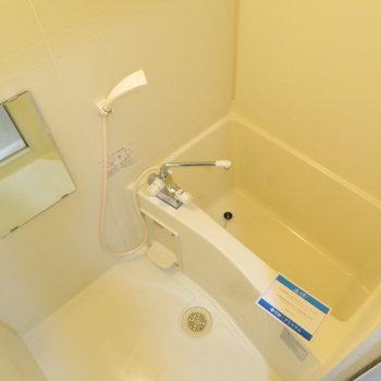 お風呂も綺麗に(※写真は9階の反転間取り別部屋のものです)