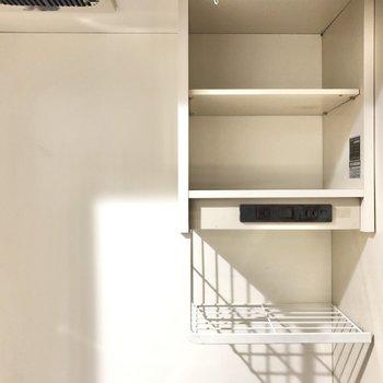 ちょっとした収納スペースがありがたいんです〜◎(※写真は1階同間取りのお部屋です)