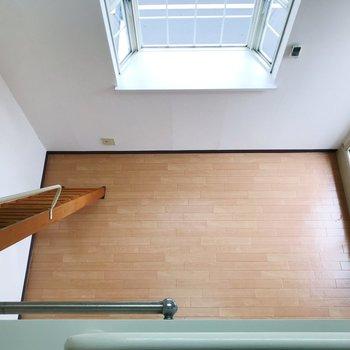 見下ろして。※写真は2階の同間取り別部屋のものです