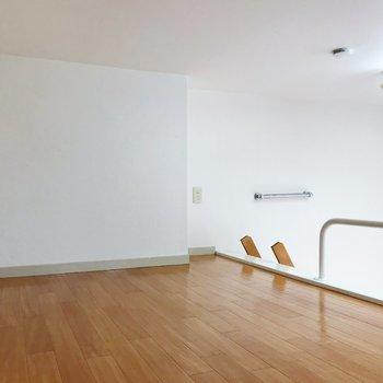 155センチで腰を屈むくらいの高さ。※写真は2階の同間取り別部屋のものです