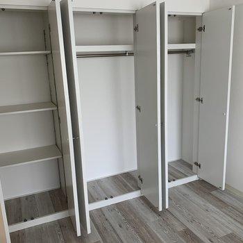 こんなに大容量の収納スペースがついてくる!