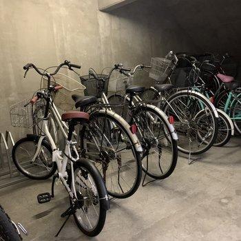 駐輪場も♫