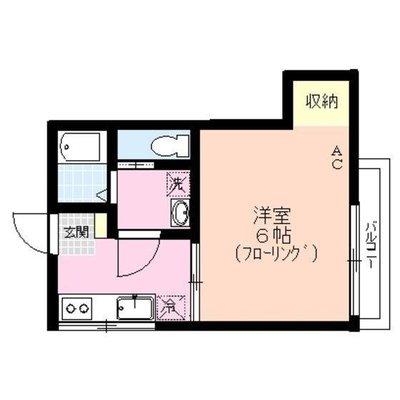 高円寺8分アパート の間取り