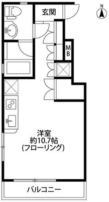 HIRO HOUSE の間取り