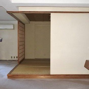【工事前】和室スペースも無垢床に生まれ変わります