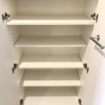 靴箱の容量も十分。