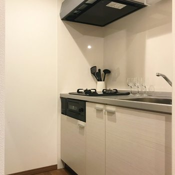 キッチン設備も整っています。