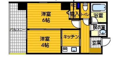 エコノ桜坂8の間取り