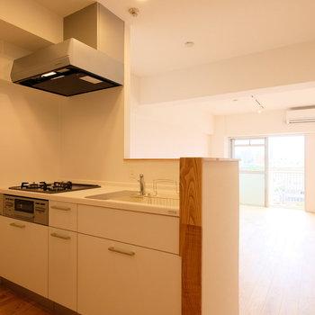 カウンターキッチンがお家生活を豊かに。