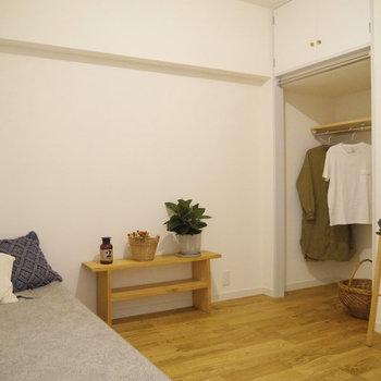 キッチンの隣には4.5帖の洋室。こちらはオープンクローゼット付き。