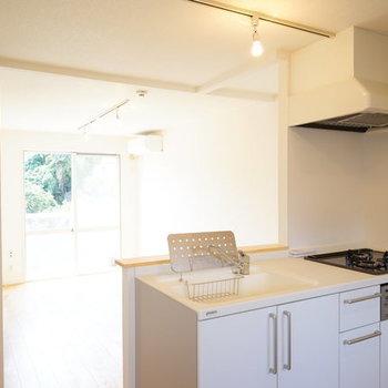 【イメージ】対面キッチンは1800のサイズで使いやすさも◎