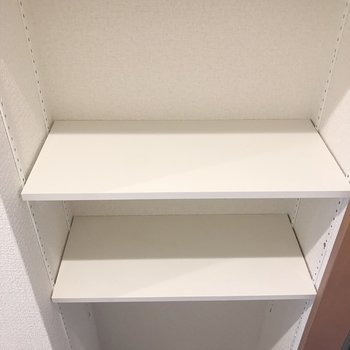 見える収納型シューズボックス◎(※写真は2階の反転間取り別部屋のものです)