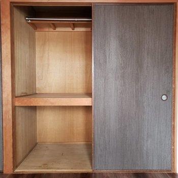 押し入れにたくさん収納できます(※写真は5階の同間取り別部屋のものです)