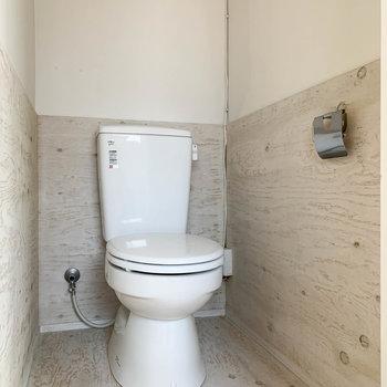 トイレもちゃんと個室なのが嬉しい。
