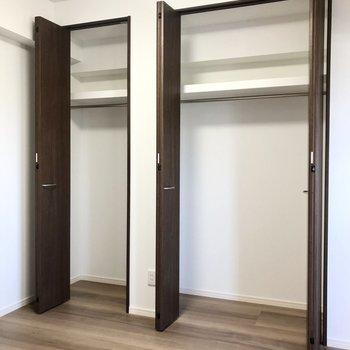 たっぷりの収納スペース!!※写真は4階の同間取り別部屋のものです