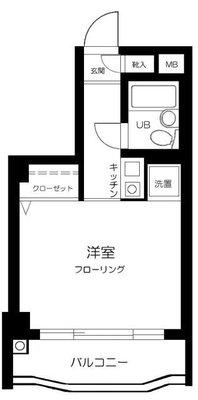 スカイコート横浜駅西口 の間取り