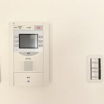 テレビモニタフォンは機能的でした!安心。
