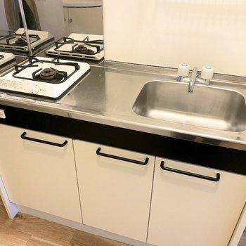 1口コンロのキッチンは調理スペースにゆとりがありました!
