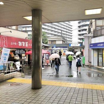 京成関屋駅から東武スカイツリーラインが通る牛田駅まではこの近さ!