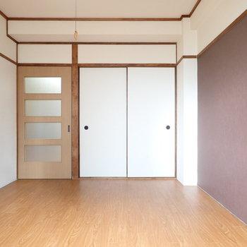 和室の雰囲気が残っています。