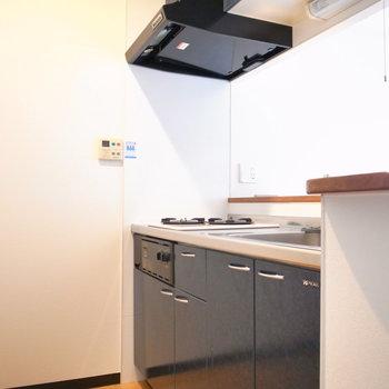 ゆったりお料理ができるスペースがあります。