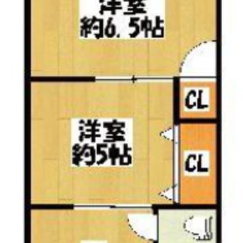 廊下がないので、移動はそれぞれのお部屋を通っていく必要があります。