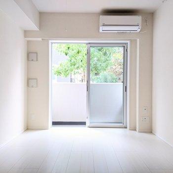 純白の快適空間