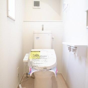 トイレも明るさたっぷり!