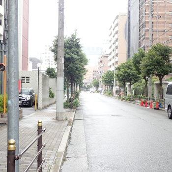 周辺環境】住宅街で閑静な通りです。